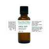 bottle of anise seed essential oil