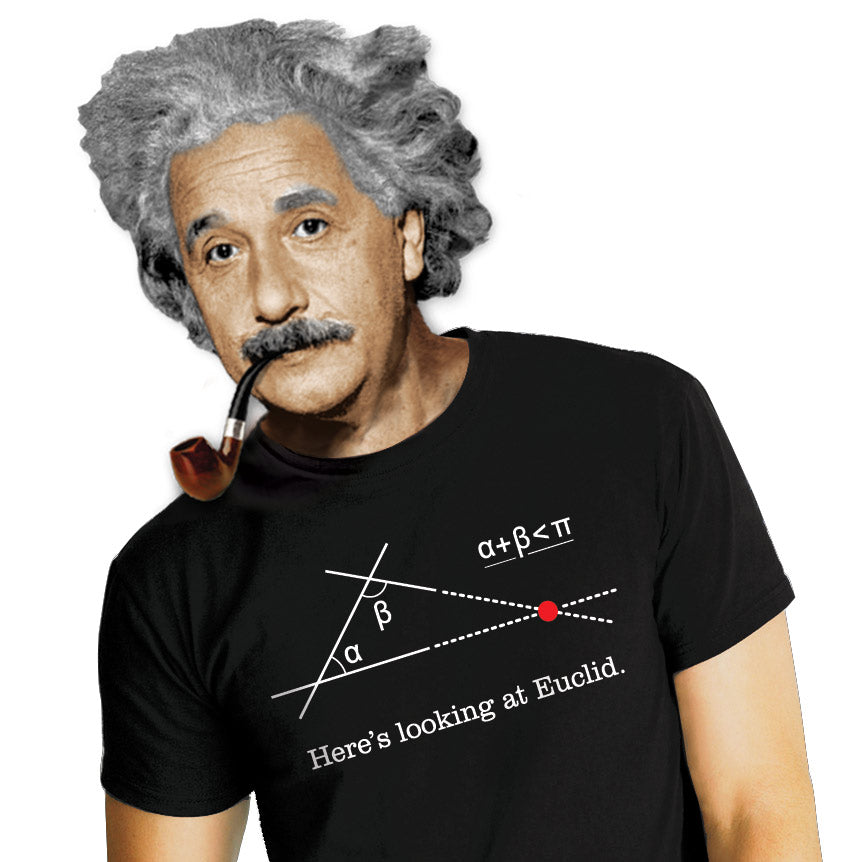 Euclid T-shirt - The Unemployed Philosophers Guild