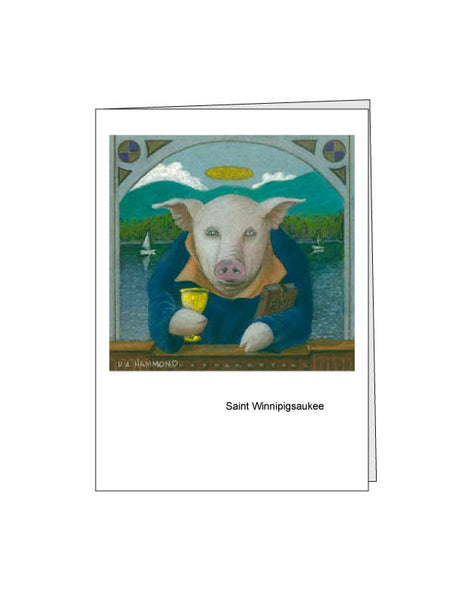 Notecard: Saint Winnipigsaukee