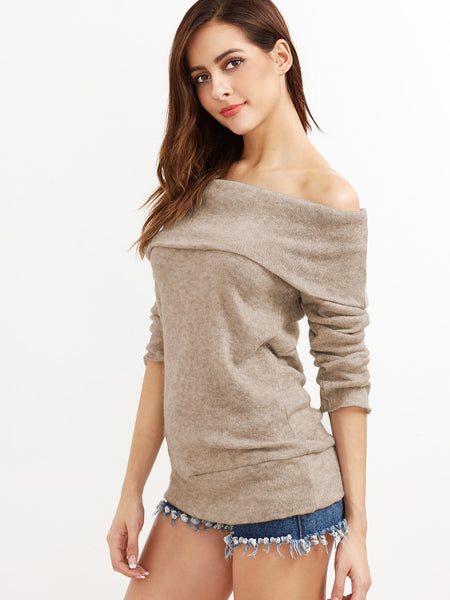 Morgan - Off the Shoulder Pullover Sweater