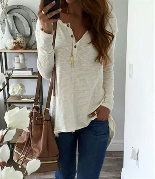 Luxe - Casual Long Sleeve Blouse