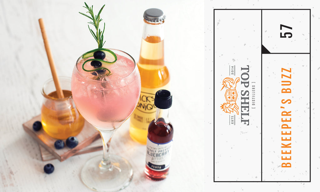 Blueberry Honey Cocktail Recipe