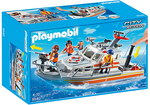 Playmobil Rescue Boat with Water Hose Playset 5540