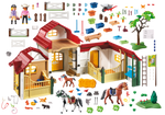 Playmobil 6926 Horse Farm Building Set