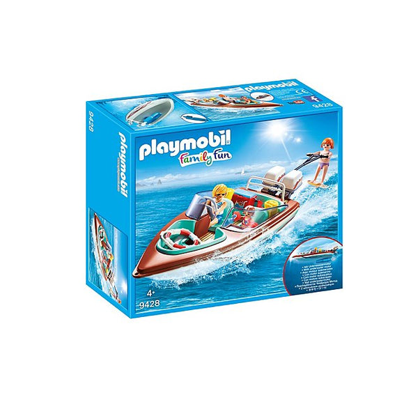PLAYMOBIL 9428 Speedboat with Underwater Motor