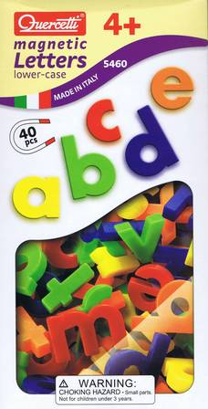 Quercetti Magnetic Letters - Lower case 40pc