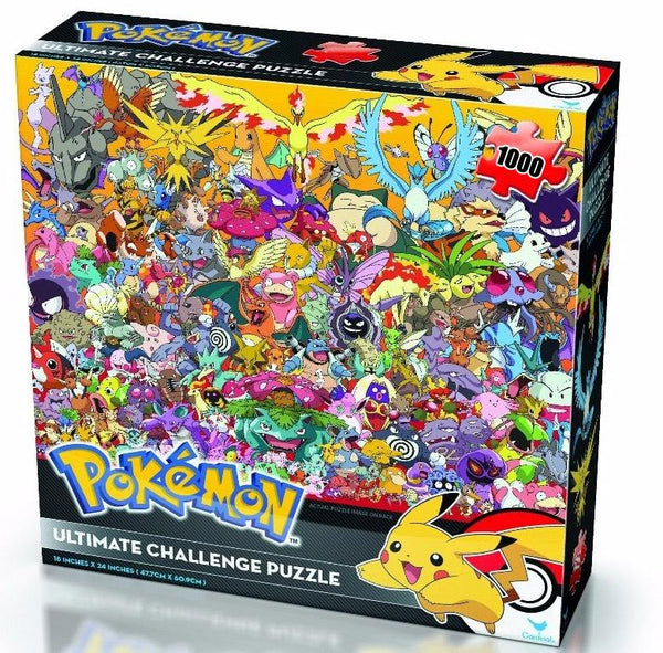 Pokemon Ultimate Challenge 1000-Piece Puzzle
