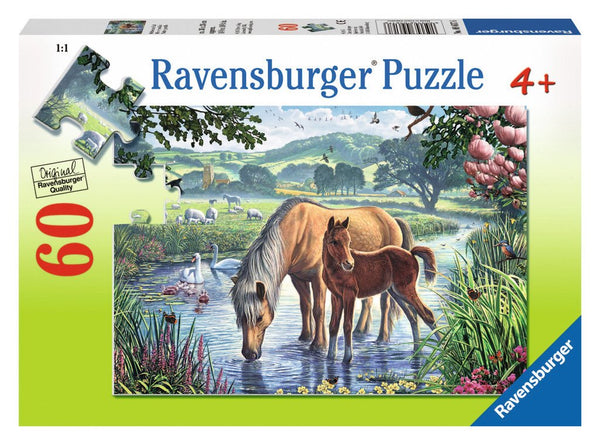 Ravensburger Puzzle Mother & Foal 60 pcs Puzzle