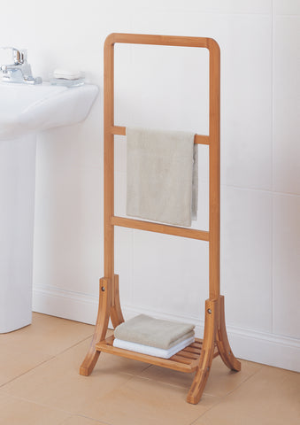 Organize It All Towel Rack - Bamboo