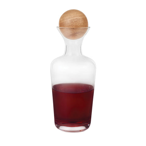 Rustic Farmhouse™ Decanter with Wooden Stopper by Twine