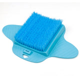 Blue Foot Brush Scrubber by Aurora - AW206B