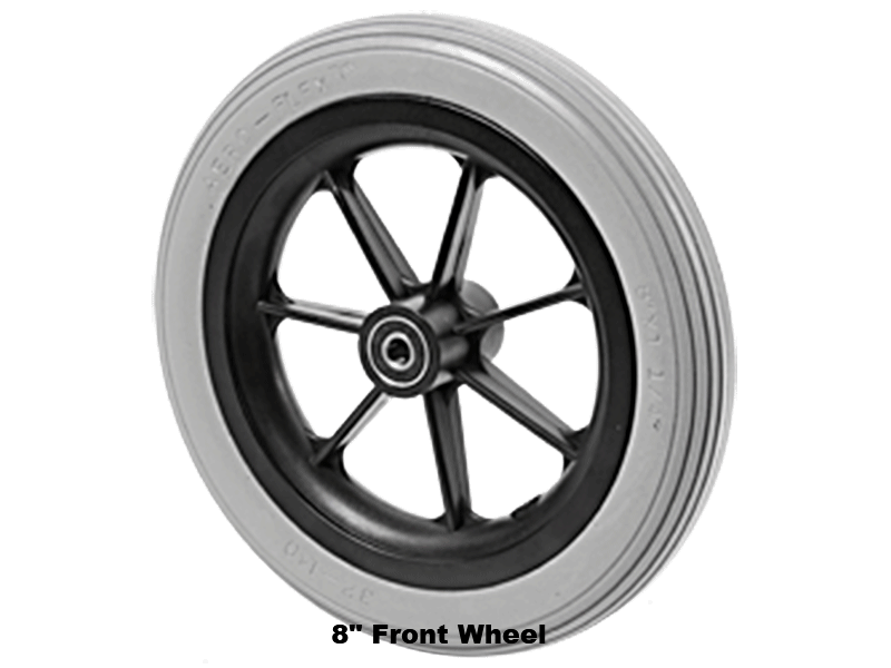 "8"" Front wheel"