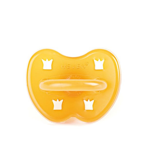 Hevea Natural Rubber Dummy - Crown (round teat)
