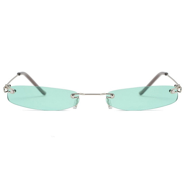 Vintage Small Narrow Sunglasses
