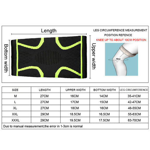 Elastic Compression Knee Sleeve - eBabyZoom