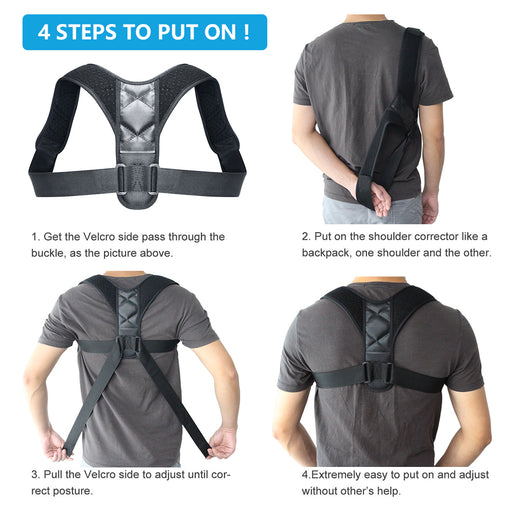Orthopedic Back Support Posture Corrector - eBabyZoom
