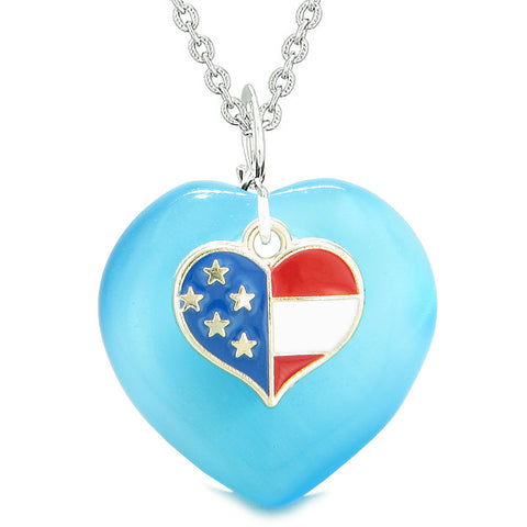 American Flag Pride Jewelry Good Luck and Protection Powers Amulets and Gifts