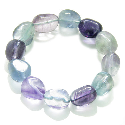 Aura Protection Talisman Fluorite Gemstone Magic and Unique Bracelets