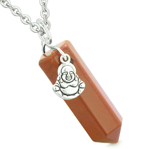 Unique Feng Shui Lucky Crystal Point Pendants Wand Necklaces and Charms