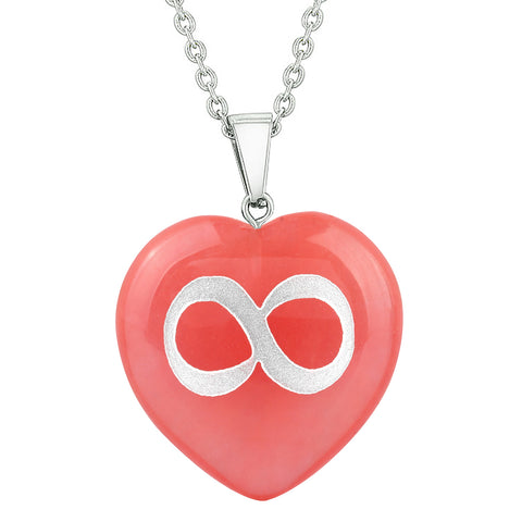 Tibetan Infinity Symbols Hearts Jewelry Amulets and Talismans