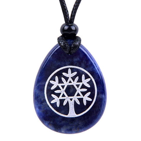 Wish Word Stones King of Solomon Star Necklaces Magic Powers Amulets and Talismans Gifts