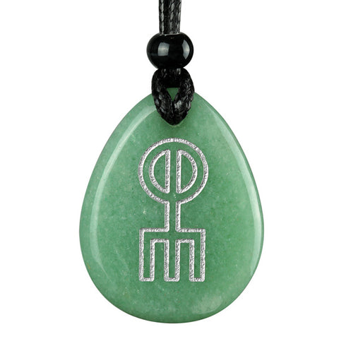 Wish Word Stones Ancient Rune Runics Necklaces Protection Magic Powers Amulets and Talismans