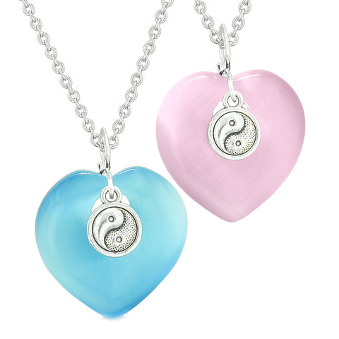 Yin Yang Heart Shaped Jewelry