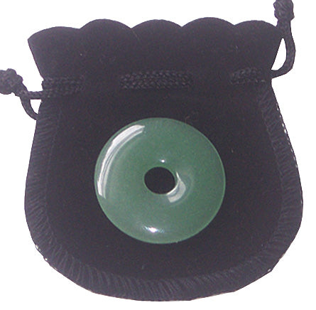 Aventurine Lucky Donut Talisman For Money - 30Mm