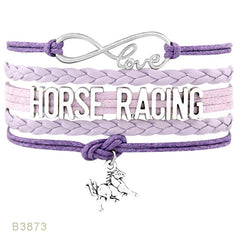 Love Horse Doctor Racing Lover Horses Bracelets