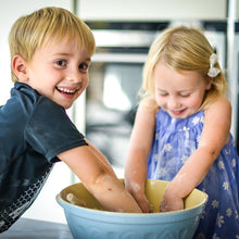 Kids baking PlayBakes