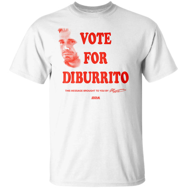 "Matt DiBenedetto ""Vote For DiBurrito"" T-Shirt"