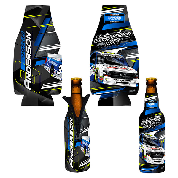 "Jordan Anderson ""Ready to Roll"" Bottle Coozie"