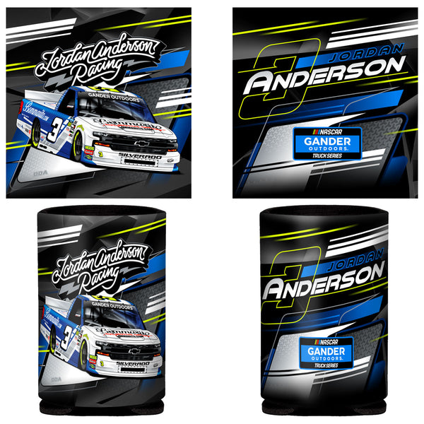 "Jordan Anderson ""Ready to Roll"" Can Coozie"