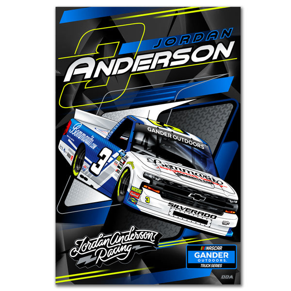 "Jordan Anderson ""Ready to Roll"" Poster"