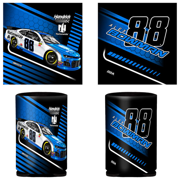 "Alex Bowman ""Streamline"" Can Coozie"