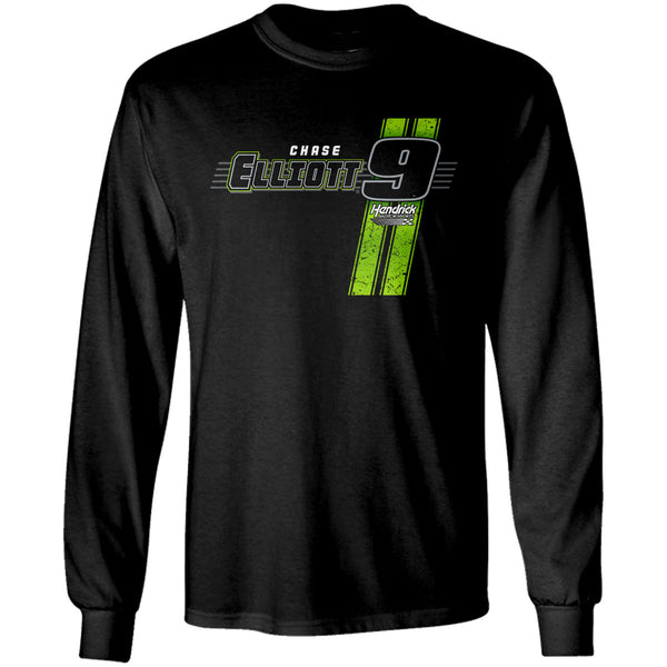 "Chase Elliott ""Going Green"" Long Sleeve T-Shirt"