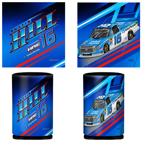 "Austin Hill ""United"" Can Coozie"
