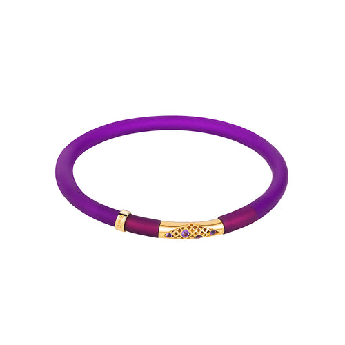 Royal Purple POP! Bracelet small Mirage gem set