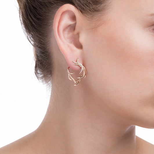 Plume hoops part pave