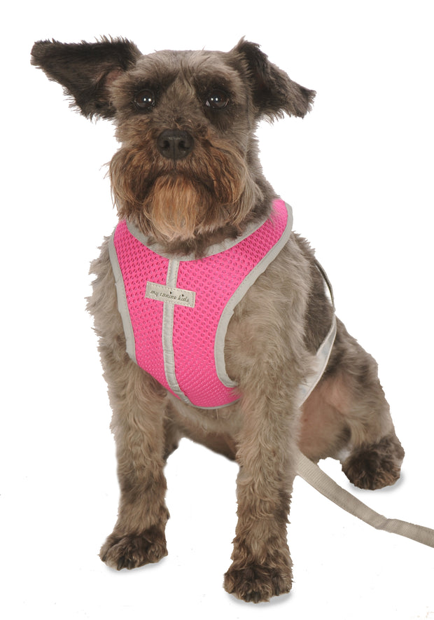 My Canine Kids | Cloak and Dawggie  - Precision Fit Reflective Dog Harness Nylon for running walking