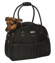 small dog carrier bag with dog in it