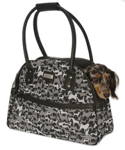 my canine kids dog purse camo with dog in it