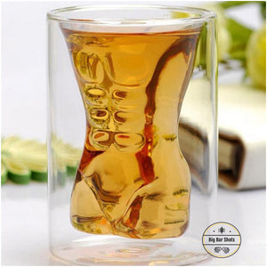 Double layer beer glasses that enhances the outlook of your bar