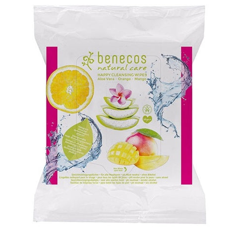 Benecos Facial Cleansing Wipes - 25 Pack