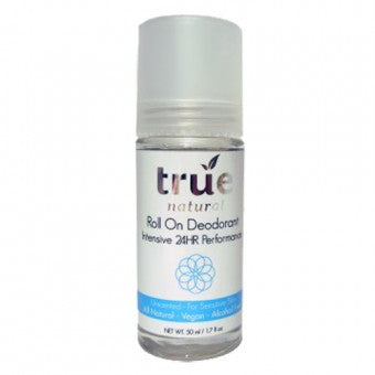 True Natural Intensive 24hr Roll On Deodorant Alcohol-Free - Unscented