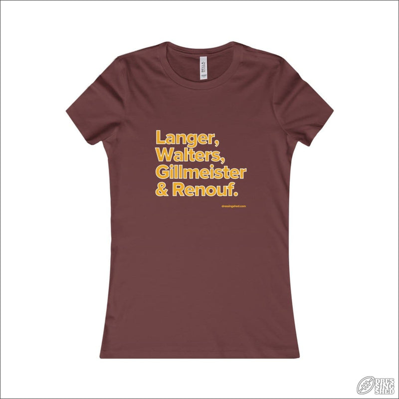 Rugby League T-shirt Ladies Brisbane Legends Maroon / S T-shirt - Womens