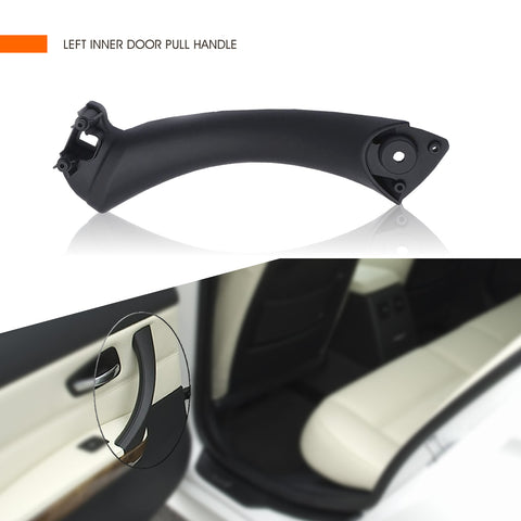InSassy Door Pull Handle for BMW E90 E91 E92 E93 3 Series - LEFT Driver Rear Inner Door Handle Pull