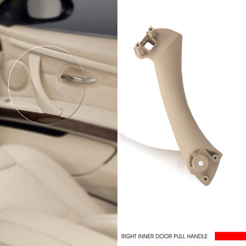 InSassy Door Pull Handle for BMW E90 E91 E92 3 Series - RIGHT Front/Rear Passenger Door Pull Handle