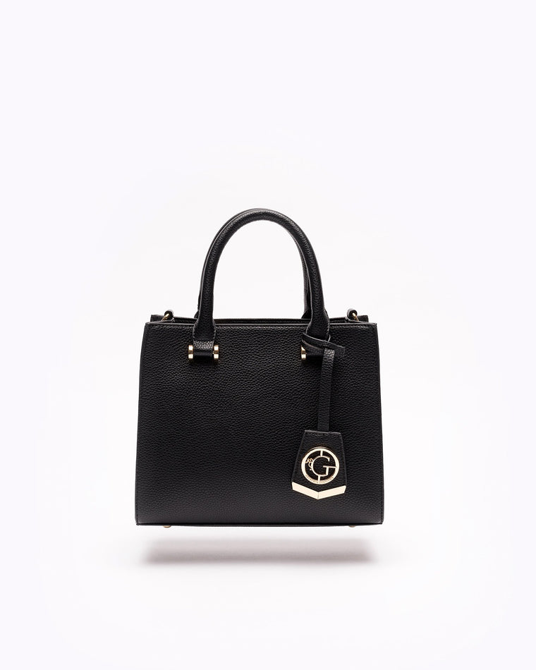 Jordyn - Crossbody Satchel in Black