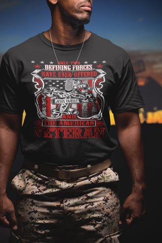 Jesus Christ And The American Veteran T Shirt - That's A Cool Tee